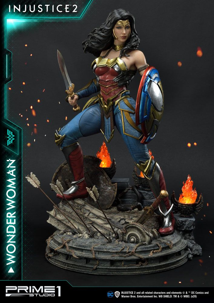 Injustice 2 Statue 1/4 Wonder Woman 52 cm