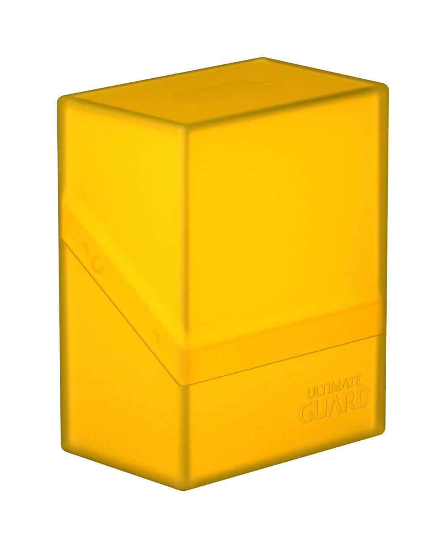 Ultimate Guard Boulder™ Deck Case 60+ Standard Size Amber