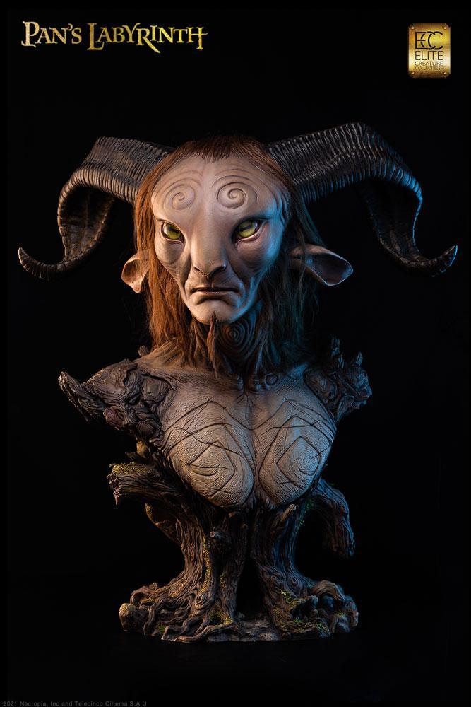 Pans Labyrinth Life-Size Bust Faun 75 cm