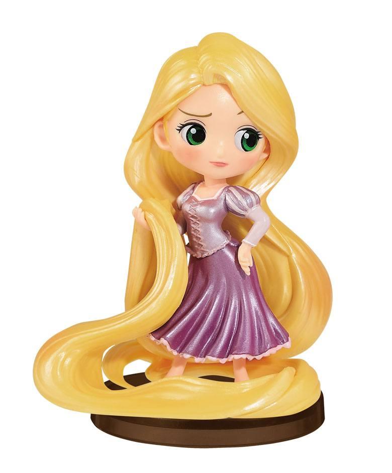 Disney Q Posket Petit Girls Festival Mini Figure Rapunzel 7 cm