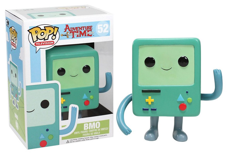 Adventure Time POP! Vinyl Figure BMO 10 cm
