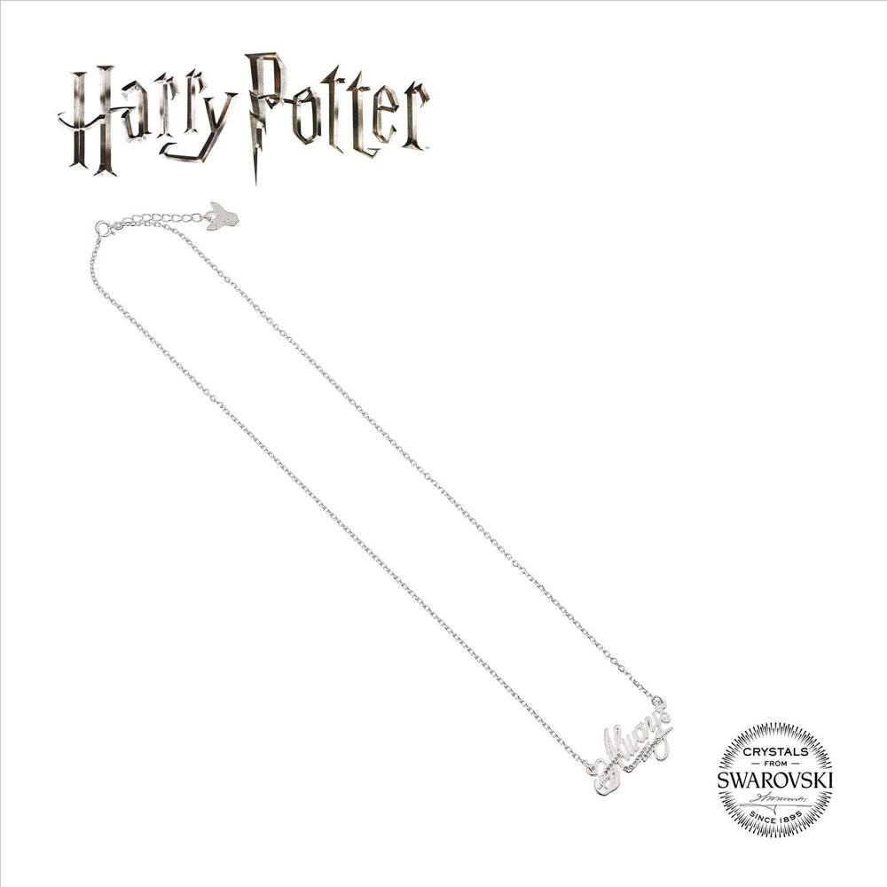 Harry Potter x Swarovski Necklace & Charm Always