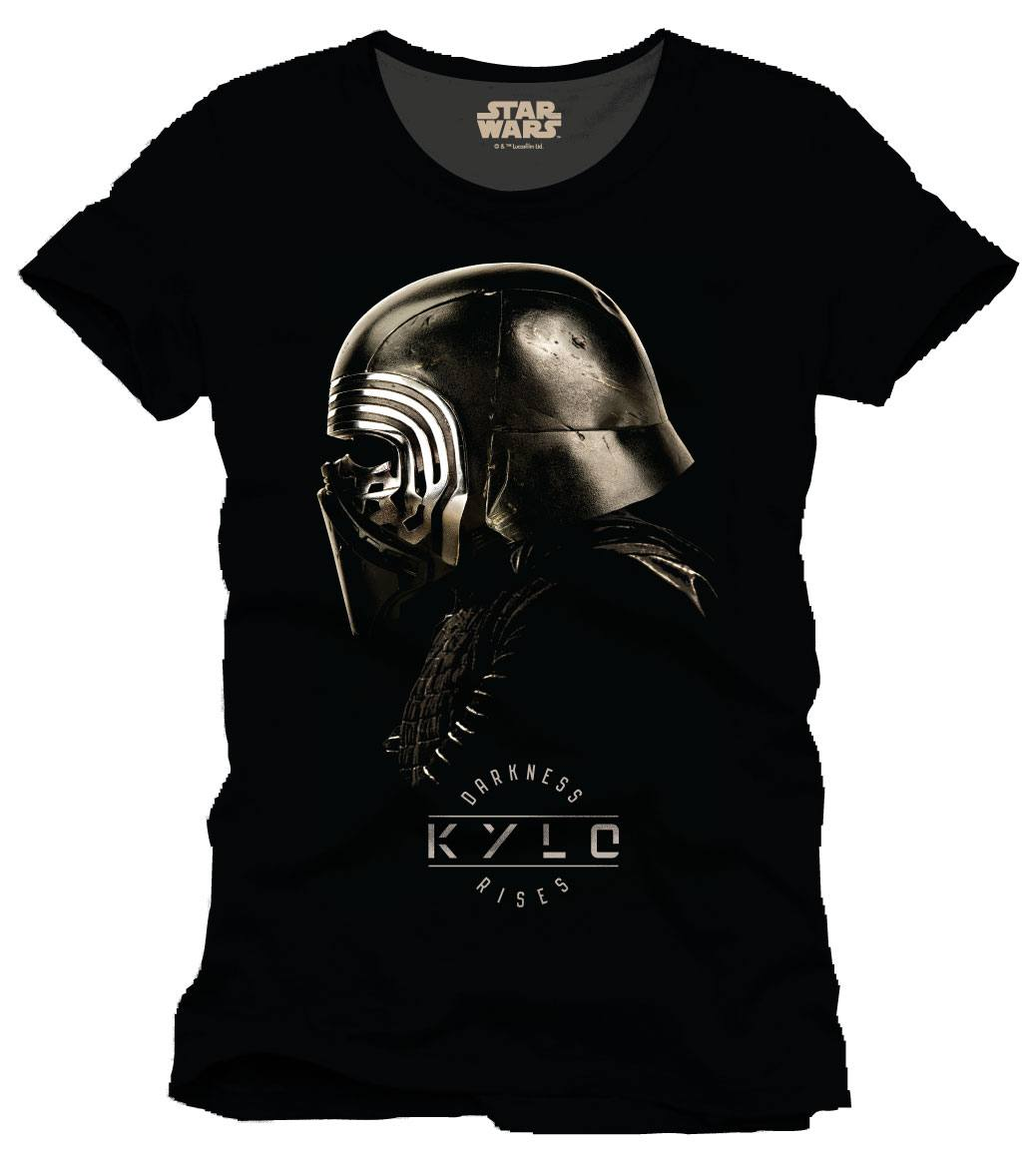 Star Wars Episode VIII T-Shirt Kylo Helmet Size XL