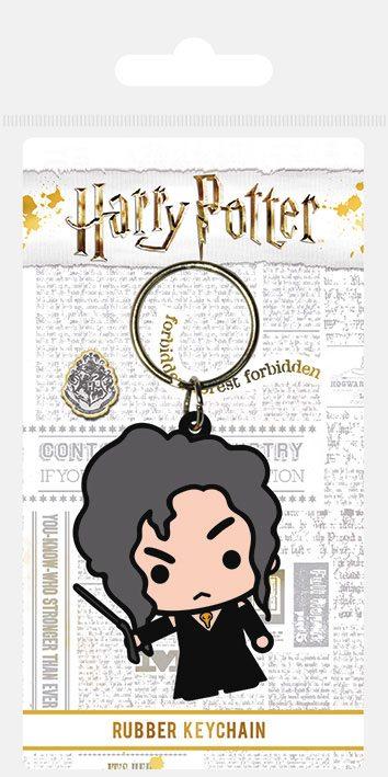 Harry Potter Rubber Keychain Chibi Bellatrix 6 cm