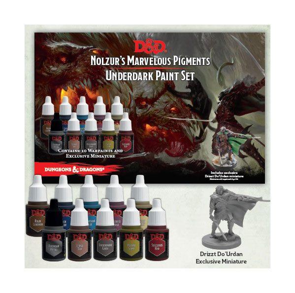 Dungeons & Dragons - Nolzur's Marvelous Pigments: Underdark Paint Set