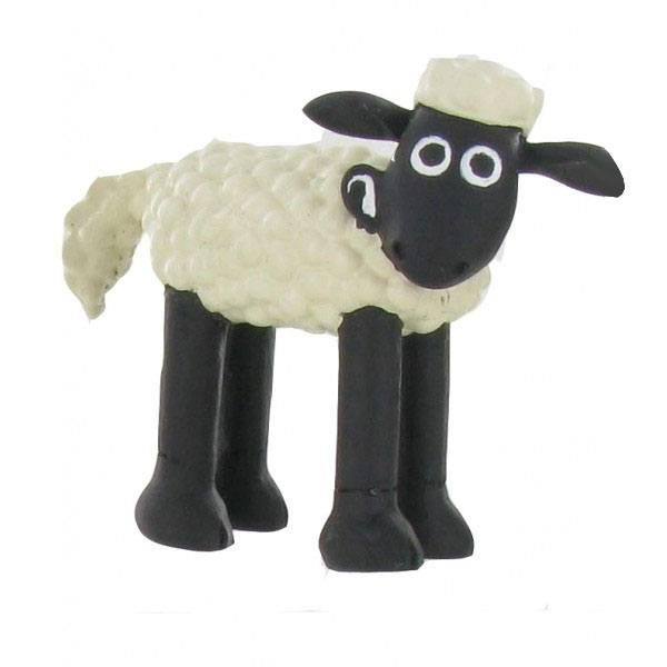 Shaun the Sheep Mini Figure Shaun On Four Legs 6 cm