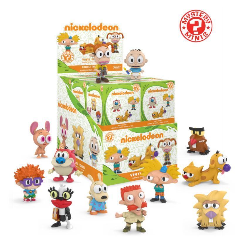 Nickelodeon Mystery Minis Vinyl Mini Figures 6 cm Display 90's (12)