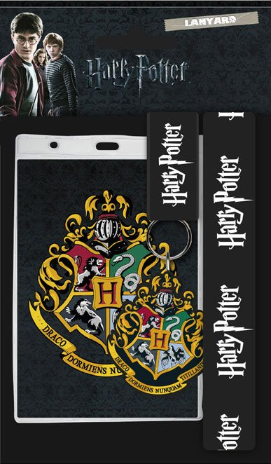 Harry Potter Lanyard with Rubber Keychain Hogwarts