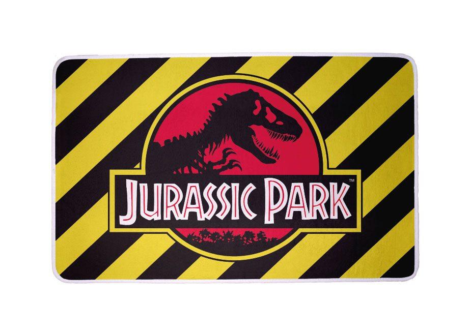 Jurassic Park Carpet Logo 80 x 50 cm