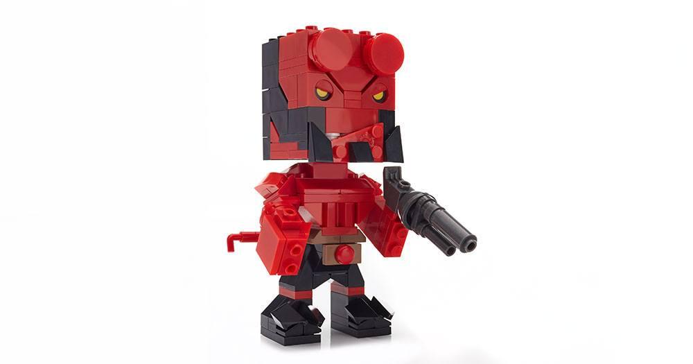 Hellboy Mega Construx Kubros Construction Set Hellboy 14 cm