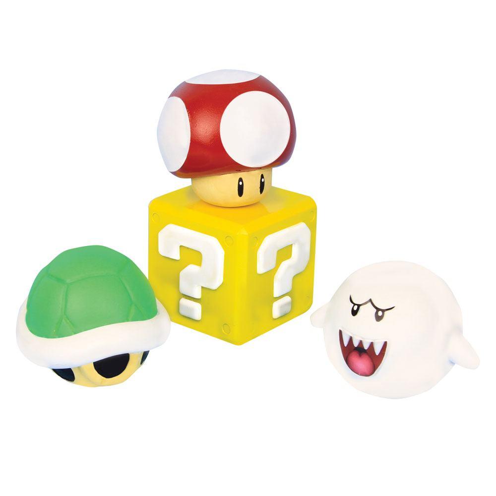 Super Mario 3D Stress Balls 8 cm Display (12)