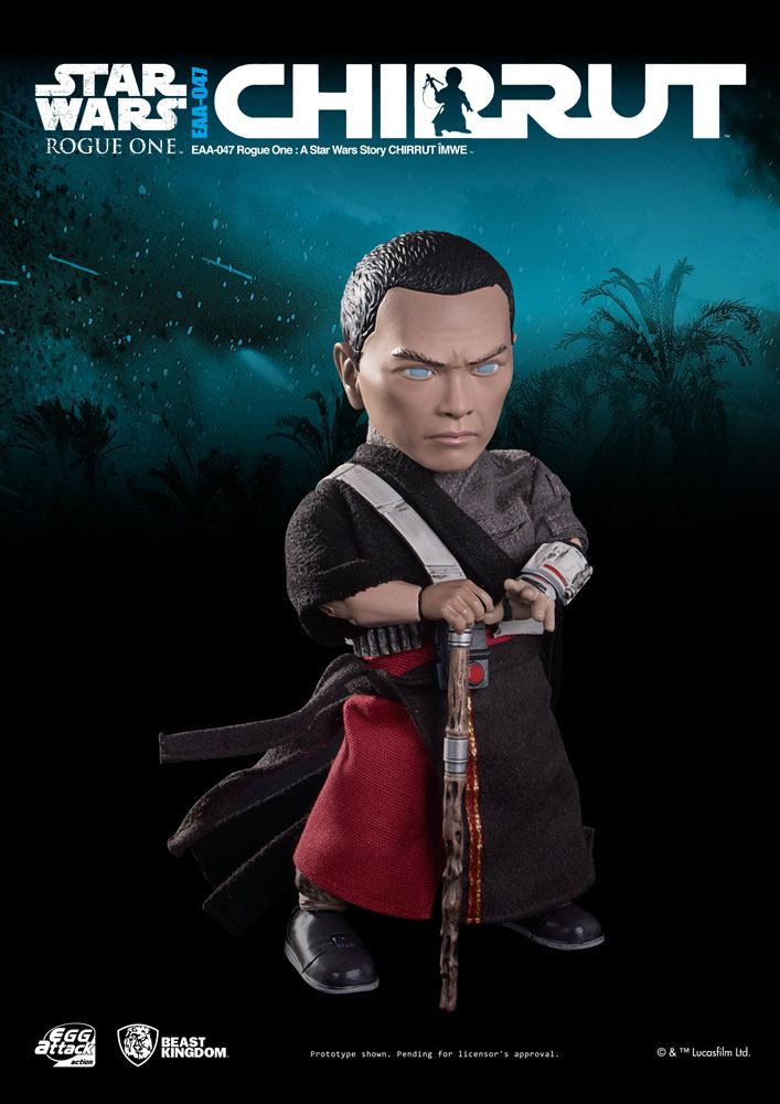 Star Wars Rogue One Egg Attack Action Figure Chirrut Imwe 15 cm