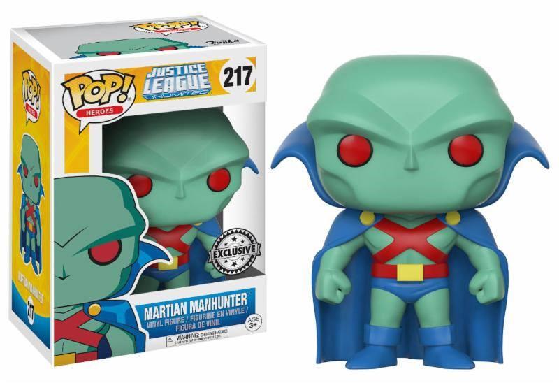 Justice League Unlimited POP! Heroes Vinyl Figure Martian Manhunter 9 cm