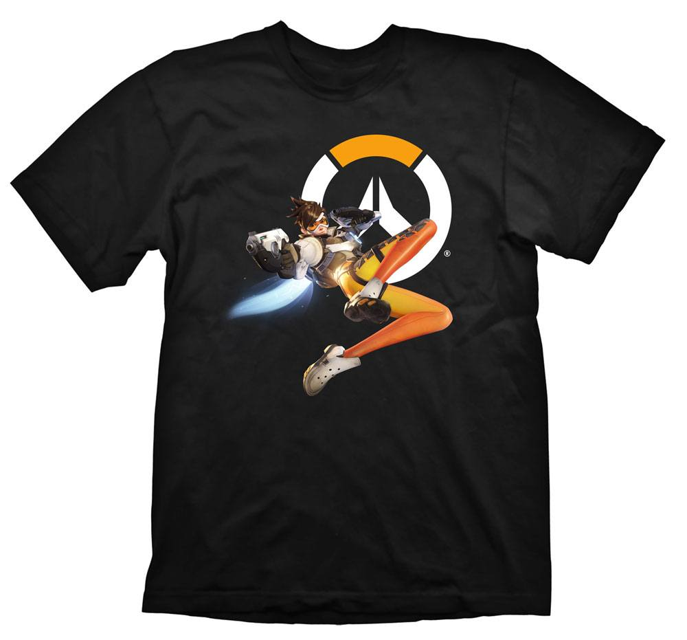 Overwatch T-Shirt Tracer Hero Size L