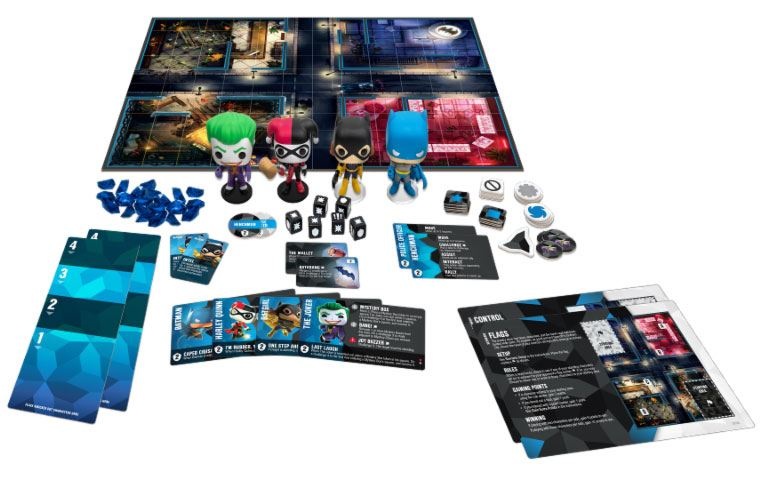 DC Comics Funkoverse Board Game 4 Character Base Set *French Version*