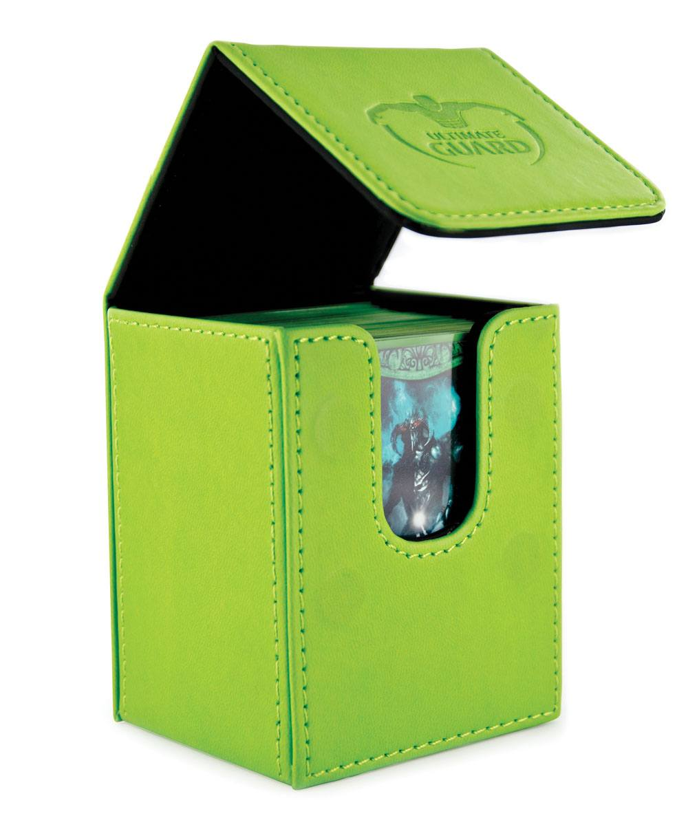 Ultimate Guard Flip Deck Case 100+ Standard Size Green