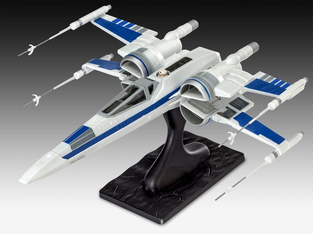 Star Wars Episode VII EasyKit Model Kit Resistance X-Wing Fighter 25 cm --- DAMAGED PACKAGING
