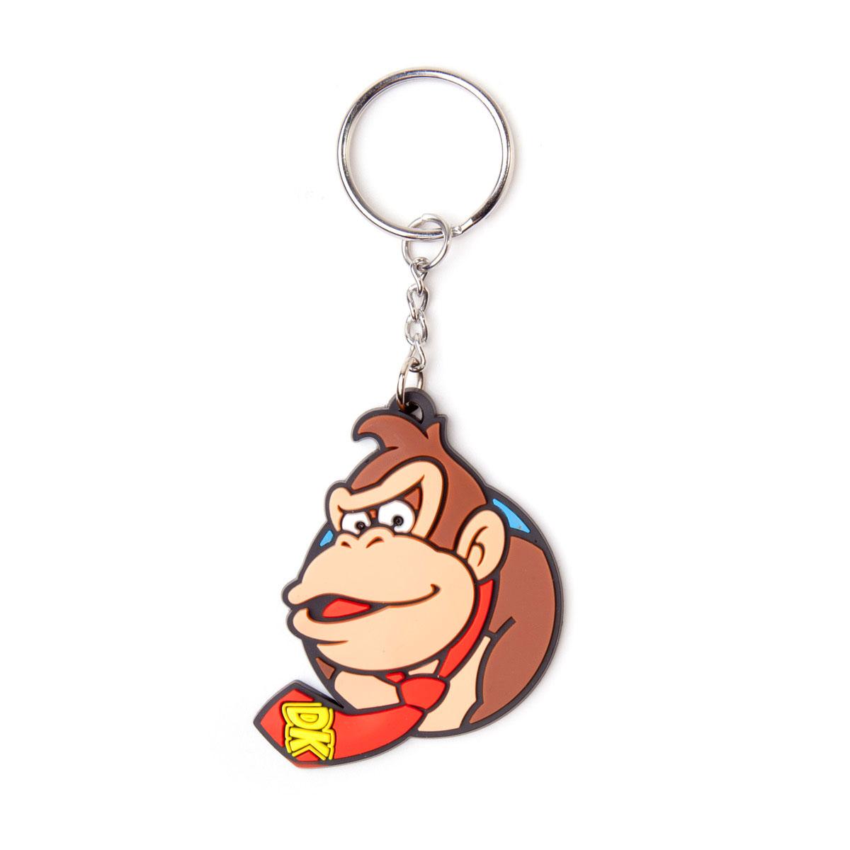Nintendo Rubber Keychain Donkey Kong 6 cm