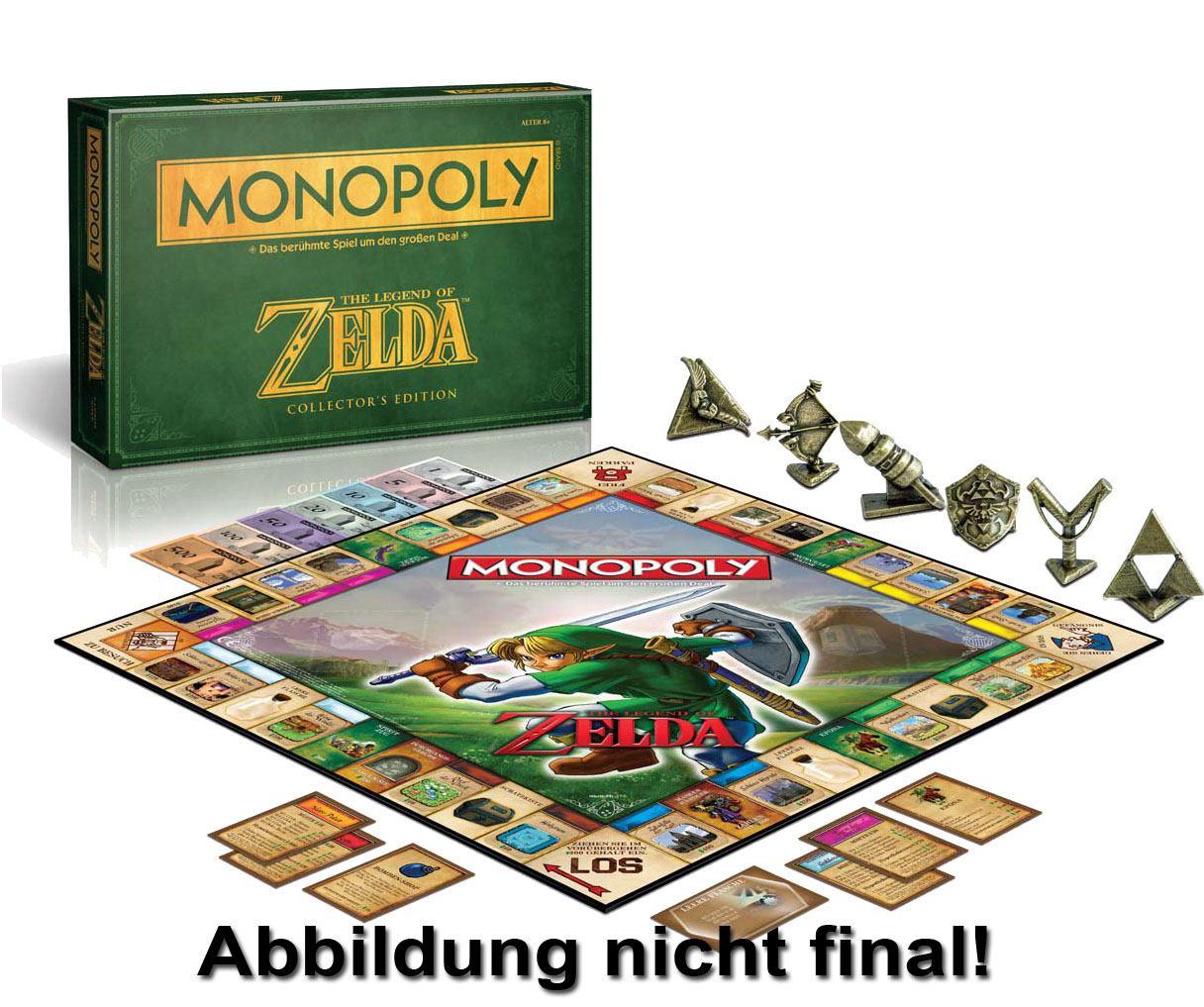 The Legend of Zelda Board Game Monopoly *German Version*