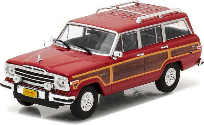 Breaking Bad Diecast Model 1/43 Skyler's 1991 Jeep Wagoneer
