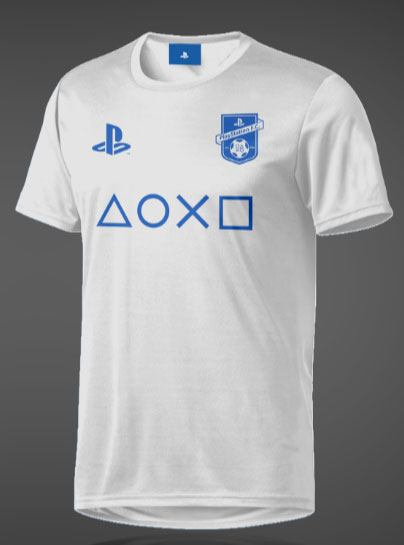 PlayStation eSport Gear Functional T-Shirt FC Symbol White Size L