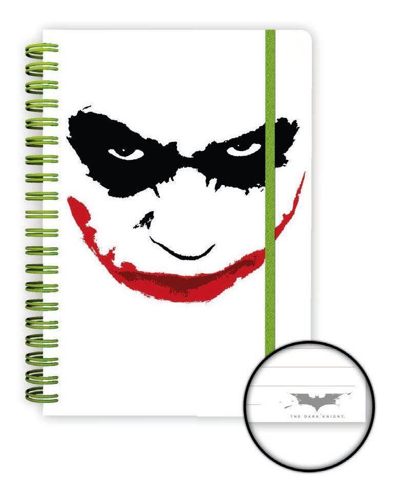 The Dark Knight Notebook A5 Joker Case (12)