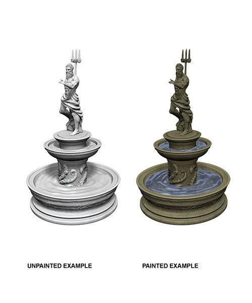 WizKids Deep Cuts Unpainted Miniature Fountain Case (6)