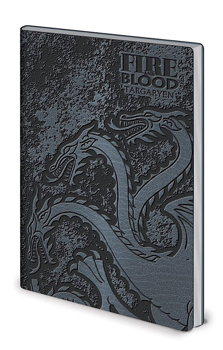 Game of Thrones Flexi-Cover Notebook A5 Stark & Targaryen