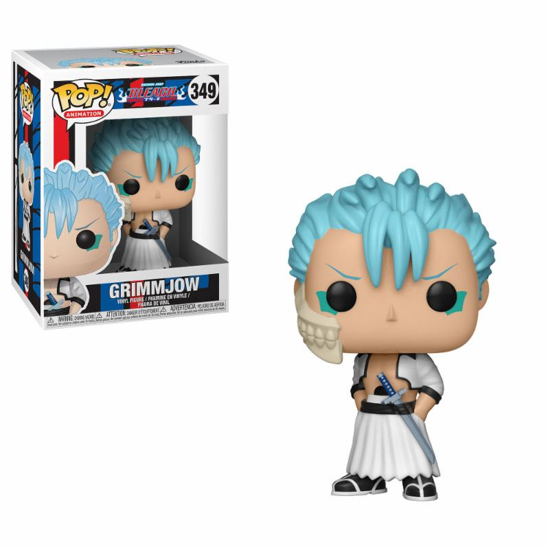 Bleach POP! Animation Vinyl Figure Grimmjow 9 cm