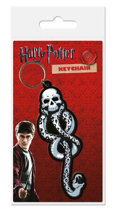 Harry Potter Rubber Keychain Dark Mark 6 cm