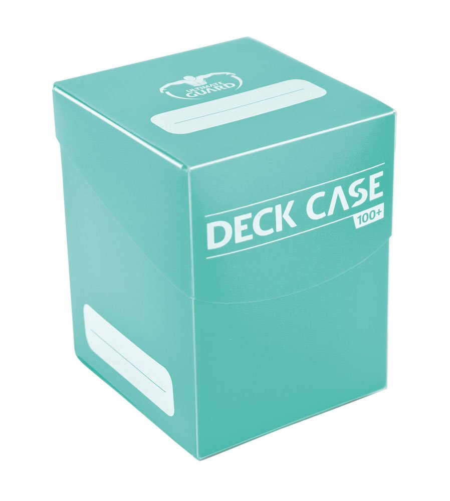 Ultimate Guard Deck Case 100+ Standard Size Turquoise