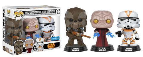 Star Wars POP! Vinyl Figure 3-Pack 2017 Fall Convention Exclusive 9 cm