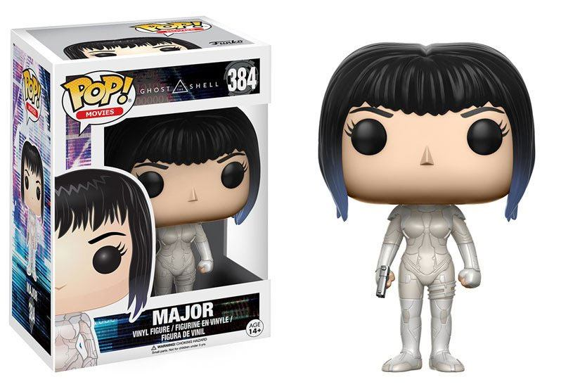 Ghost in the Shell POP! Movies Vinyl Figure Major 9 cm --- DAMAGED PACKAGING