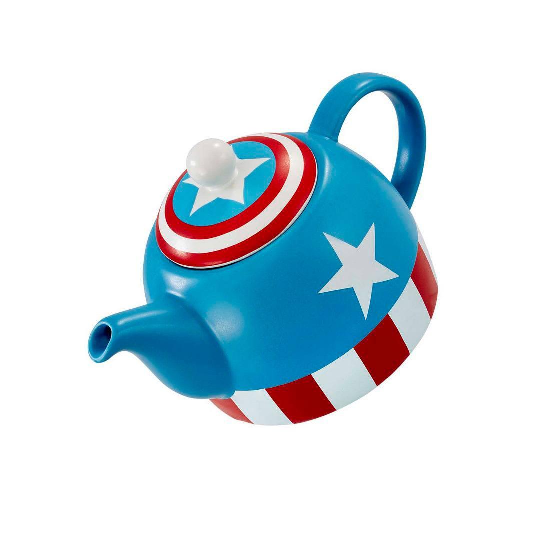 Marvel Teapot I Am Captain America