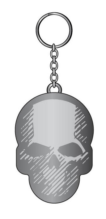 Ghost Recon Wildlands Metal Key Ring Skull