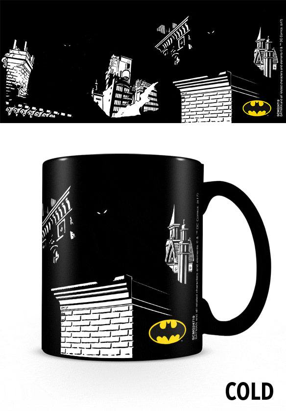 DC Comics Heat Change Mug Batman Shadows