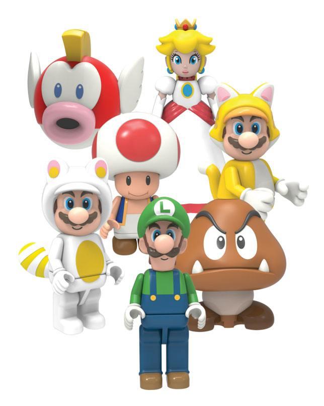 Super Mario Buildable K'NEX Figures 5 cm Wave 5 Display (48)
