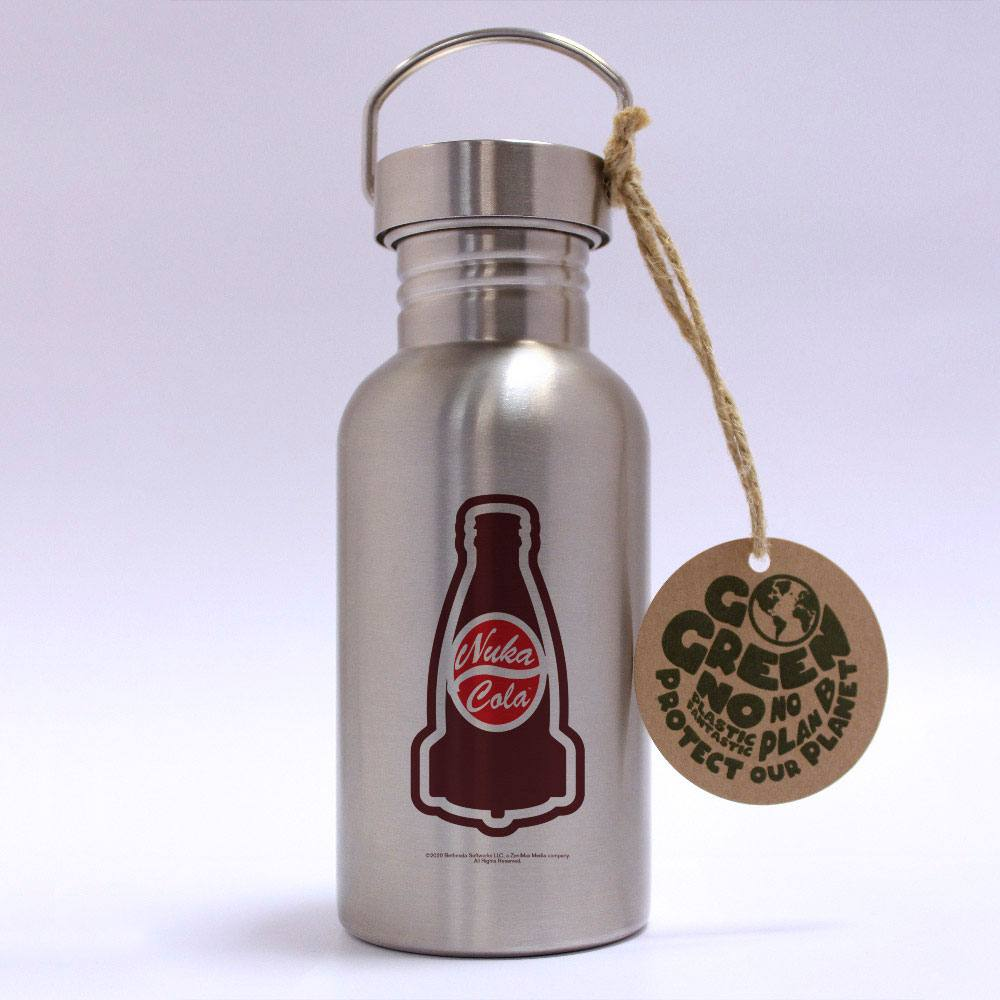 Fallout Stainless Steel Water Bottle Nuka Cola
