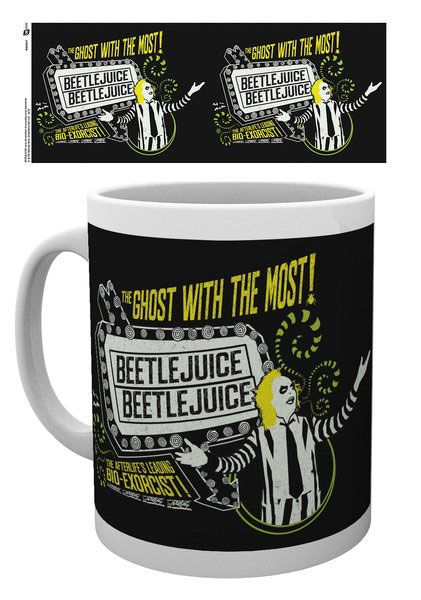 Beetlejuice Mug The Ghost With The Most