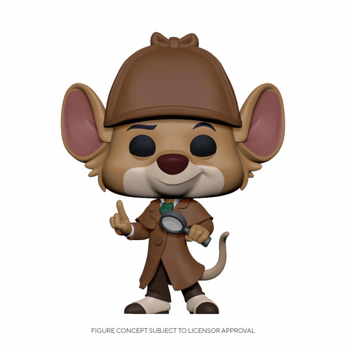 The Great Mouse Detective POP! Disney Vinyl Figure Basil 9 cm