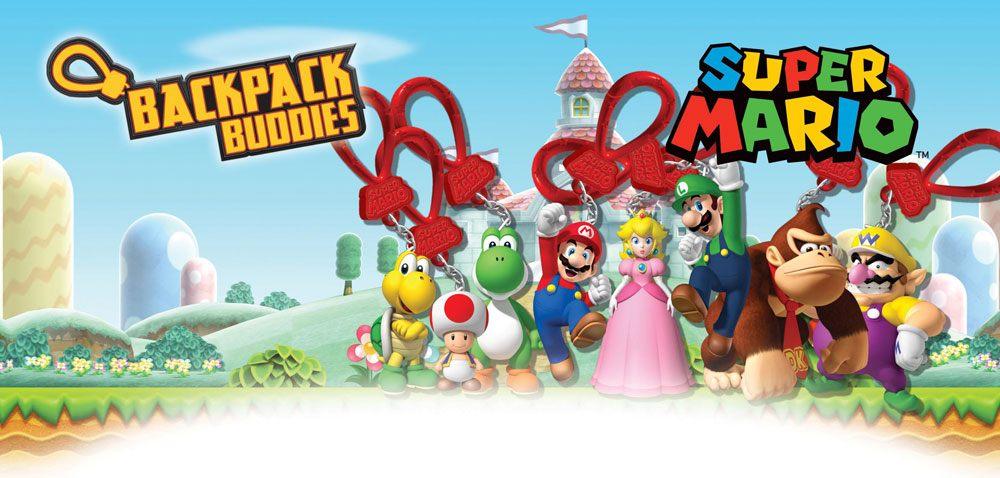 Super Mario Backpack Buddies Mystery Bags Display (24)