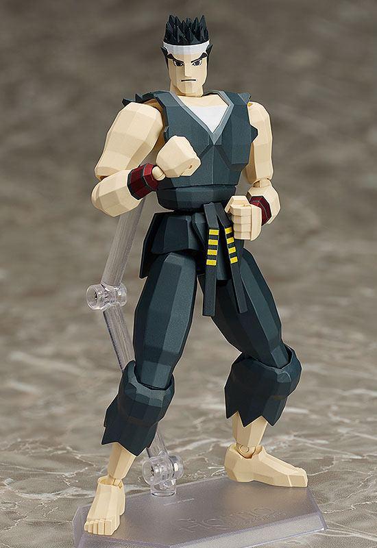 Virtua Fighter Figma Action Figure Akira Yuki 15 cm