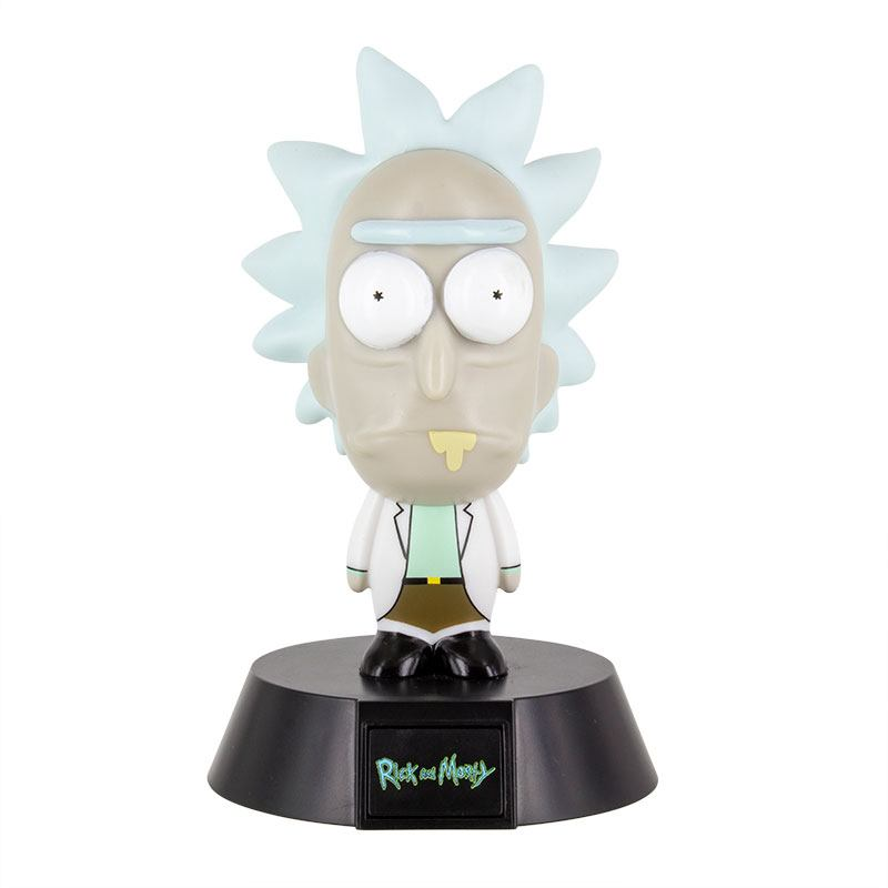 Rick & Morty 3D Icon Light Rick 10 cm