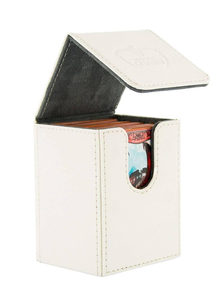 Ultimate Guard Flip Deck Case 80+ Standard Size XenoSkin White