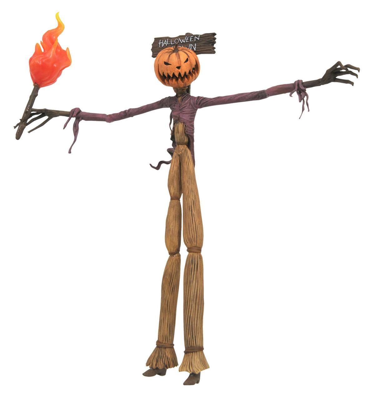 Nightmare before Christmas Select Best Of Action Figure Series 2 Pumpkin King Jack 23 cm