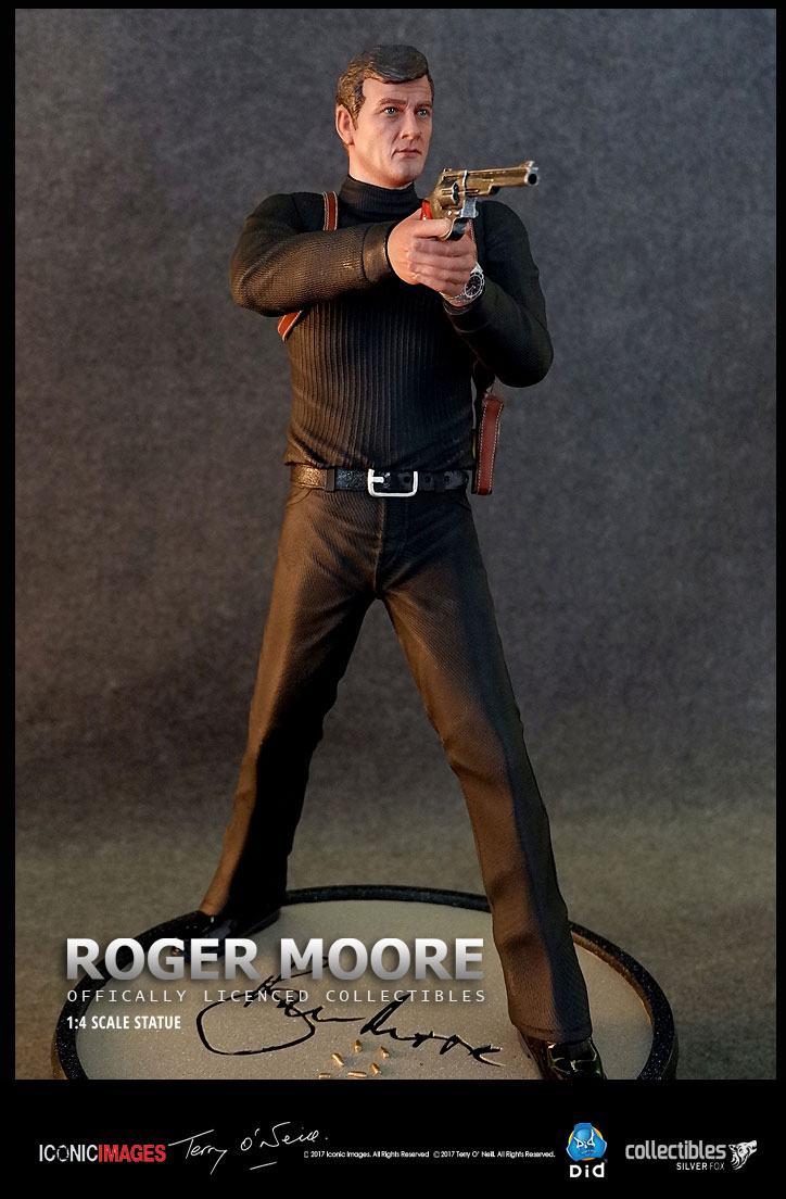 Roger Moore Statue 1/4 53 cm