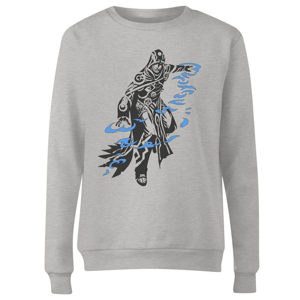 Magic the Gathering Ladies Sweatshirt Jace Character Art Size L