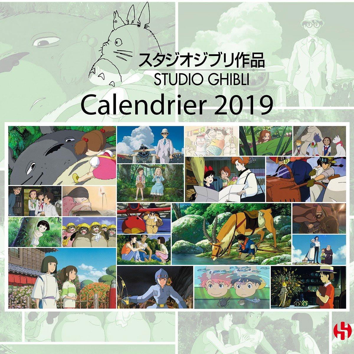 Studio Ghibli Calendar 2019 French Version*