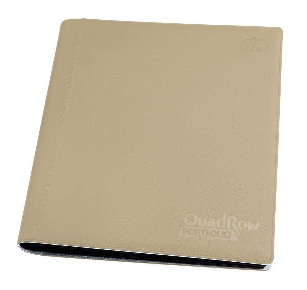 Ultimate Guard 12-Pocket QuadRow Portfolio XenoSkin Sand