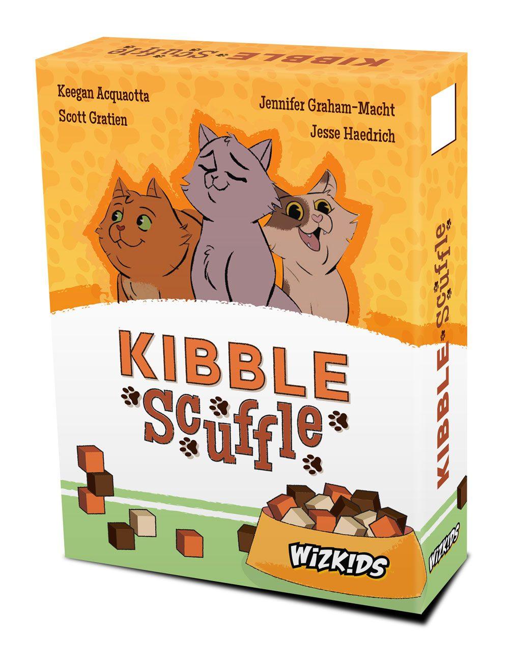 Kibble Scuffle Board Game *English Version*